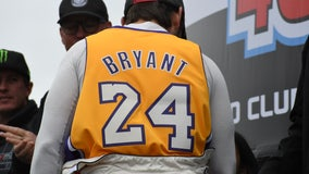 Kobe Bryant honored in several tributes at Auto Club Speedway for NASCAR weekend
