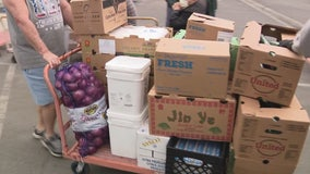 Panic buying causes Orange County food bank to nearly run out of food amid coronavirus outbreak