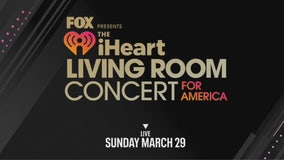 iHeart Living Room Concert for America this Sunday at 6pm on FOX