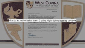 Individual at West Covina High tests positive for COVID-19, prompting district-wide school closures