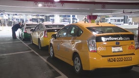 Officials start new plan to give taxis better access to passengers at LAX