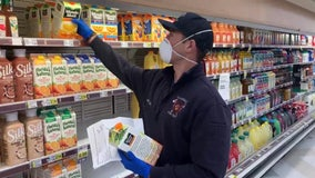 Heroes Among Us: Glendale firefighters grocery shop for residents who are high-risk for COVID-19