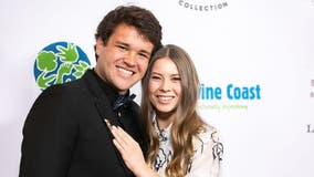 Bindi Irwin marries Chandler Powell in private ceremony with no guests due to the coronavirus