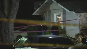 Double shooting leaves woman dead in Woodland Hills