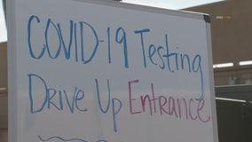 Drive-up coronavirus testing facility opens in Riverside County
