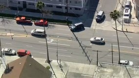 Suspected DUI driver taken into custody after pursuit ends near LAX