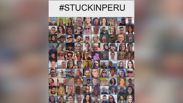 Americans stranded in Peru with 2 days left before all non-citizen flights halted