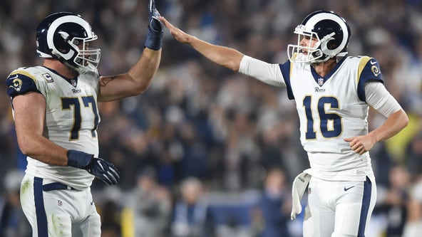 Rams QB Jared Goff, OT Andrew Whitworth donate $250,000 each to Los Angeles Regional Food Bank