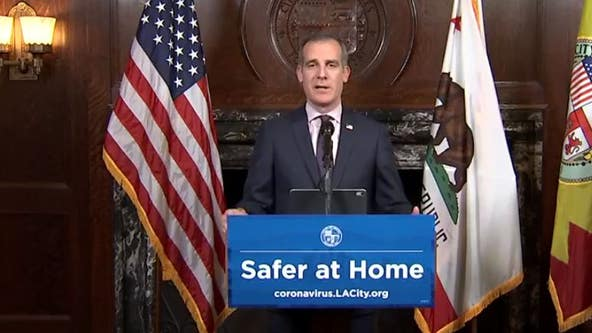 Mayor Eric Garcetti updates Angelenos on COVID-19 response efforts