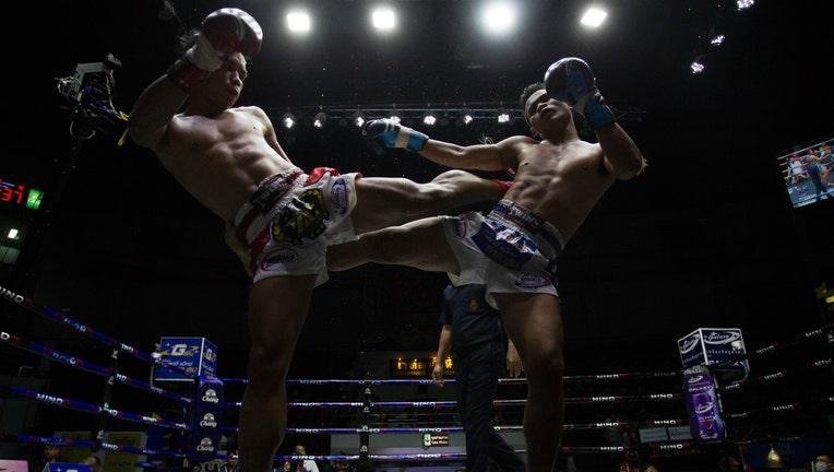 GETTY Muay Thai boxing match in Thailand during coronavirus