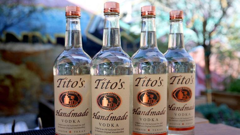 GETTY Tito's Handmade Vodka