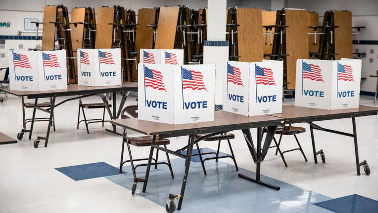 4d280a12-Voters In 14 States Head To The Polls On Super Tuesday
