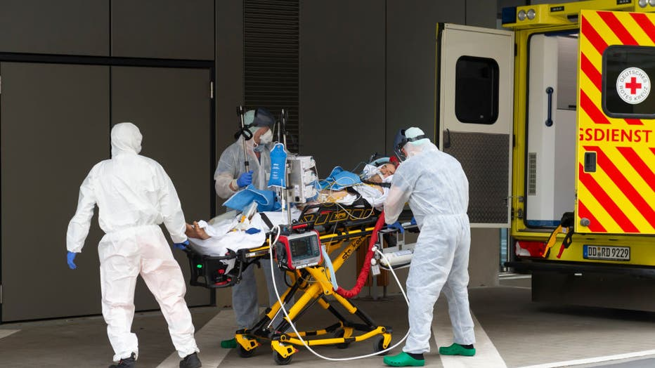 Germany Treats Covid-19 Patients From Italy