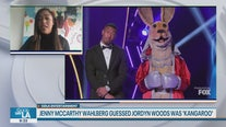 Jordyn Woods revealed as Kangaroo on 'The Masked Singer'