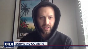 WeHo man diagnosed with COVID-19 provides update on his condition