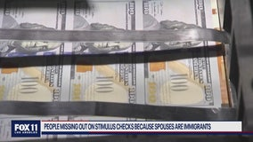 People missing out on stimulus checks because spouses are immigrants