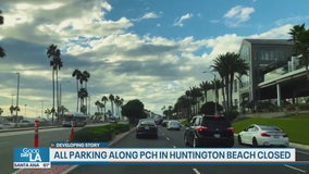 All parking along PCH in Huntington Beach to close to help slow coronavirus spread