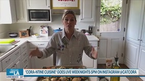 Celebrity Chef Cat Cora shares tips from her home kitchen