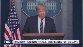 Trump: Immigration into the US suspended for 60 days