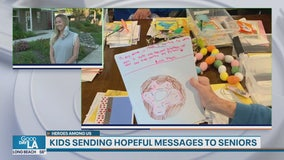 Heroes Among Us: Kids send hopeful messages to Redlands seniors