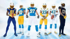 Powder Blue and Sunshine Gold: Los Angeles Chargers unveil new uniforms