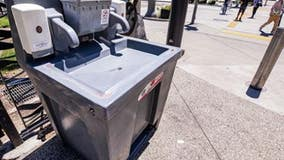 Long Beach installs hand-washing stations throughout city to help slow spread of COVID-19