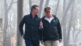 California Gov. Newsom finds new friend in Washington: President Trump