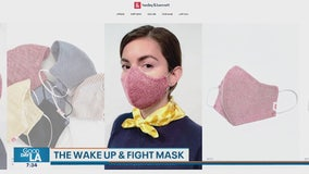 Meet the woman behind the innovative 'Wake Up and Fight' mask
