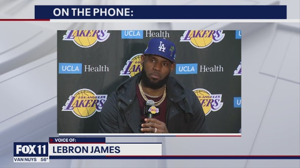 LeBron James about what he's doing in this time of self-isolation during COVID-19 crisis