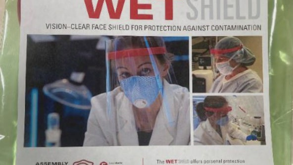 Local company pivots to make much-needed 'face shields'