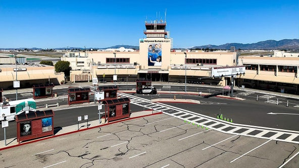 Hollywood Burbank Airport closes Terminal B due to coronavirus