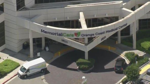 Suspect detained at Orange Coast Medical Center after seen firing flare gun