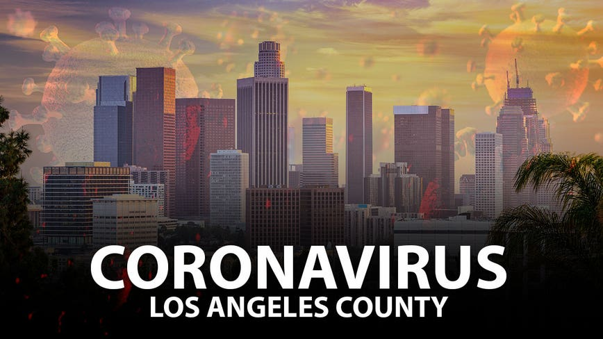 Los Angeles County's total number of coronavirus cases rises to 116,570 with 3,534 total deaths