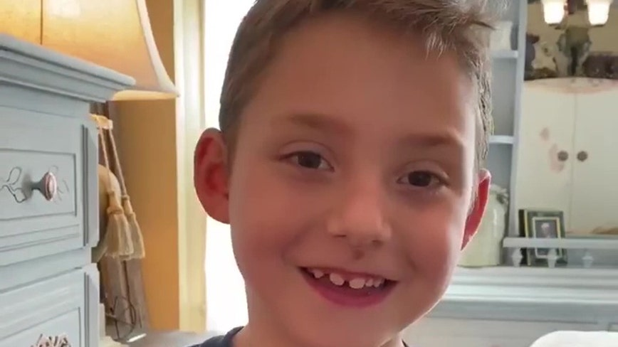 Six-year-old cystic fibrosis 'warrior' announces he beat coronavirus