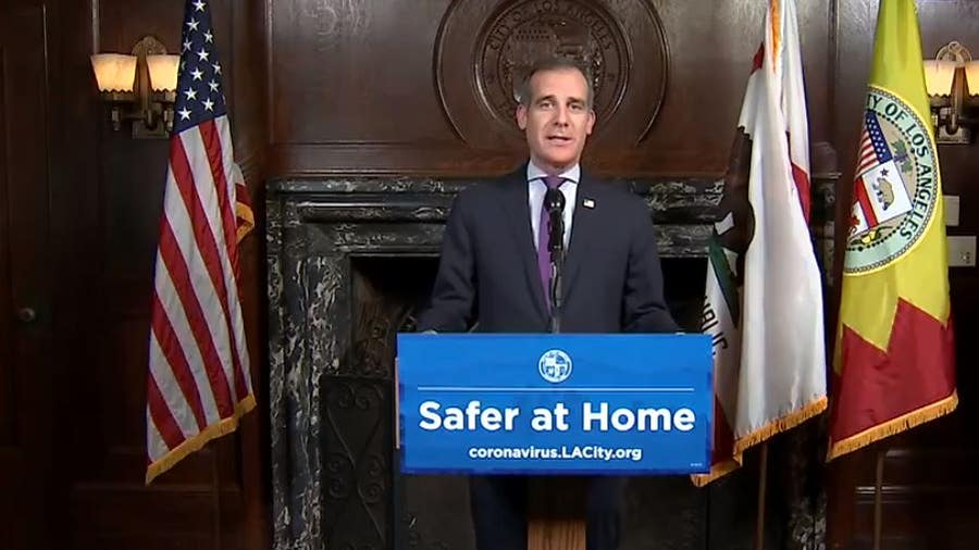 Mayor Garcetti says Los Angeles parks will be closed, guarded on Easter Sunday
