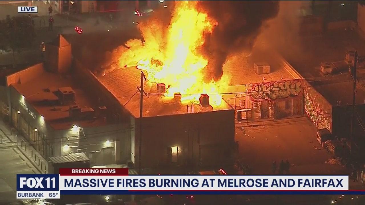 www.foxla.com: Melrose Avenue: An epicenter of riotous activity