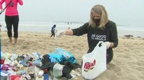 Global nonprofit works to clean SoCal beaches filled with trash following busy Memorial Day weekend