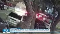 Burglary suspect kills pedestrian during pursuit in Long Beach