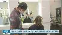 Phase Three: Hair Salons and barbershops reopen in most California counties