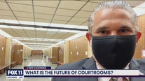 A look into LA County courtrooms and how they plan to operate during the pandemic