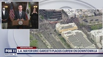 Mayor Garcetti  enacts curfew for DTLA