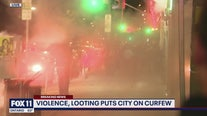 Violence, looting puts entire city on curfew