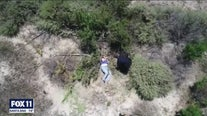Police drone finds missing woman and her dog
