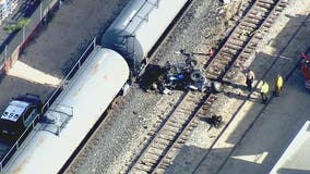 Two killed after train strikes vehicle in Lancaster