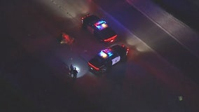 Woman fatally struck by two vehicles on 210 Freeway in Sylmar