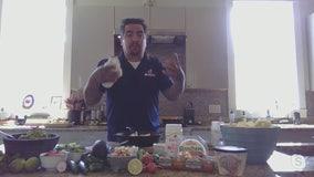 Chef Aaron Sanchez creates a Cinco de Mayo fiesta right at home