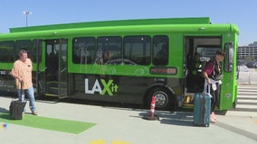 LAX adding more shuttles; separate lanes for Uber, Lyft