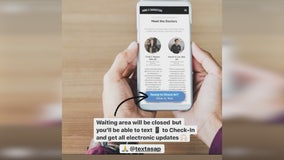 TextAsap helps keep waiting rooms empty in effort to maintain social distancing
