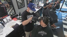 Laguna Hills barber shop opens early, defying state order
