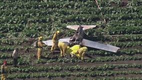 1 killed in small airplane crash in Camarillo